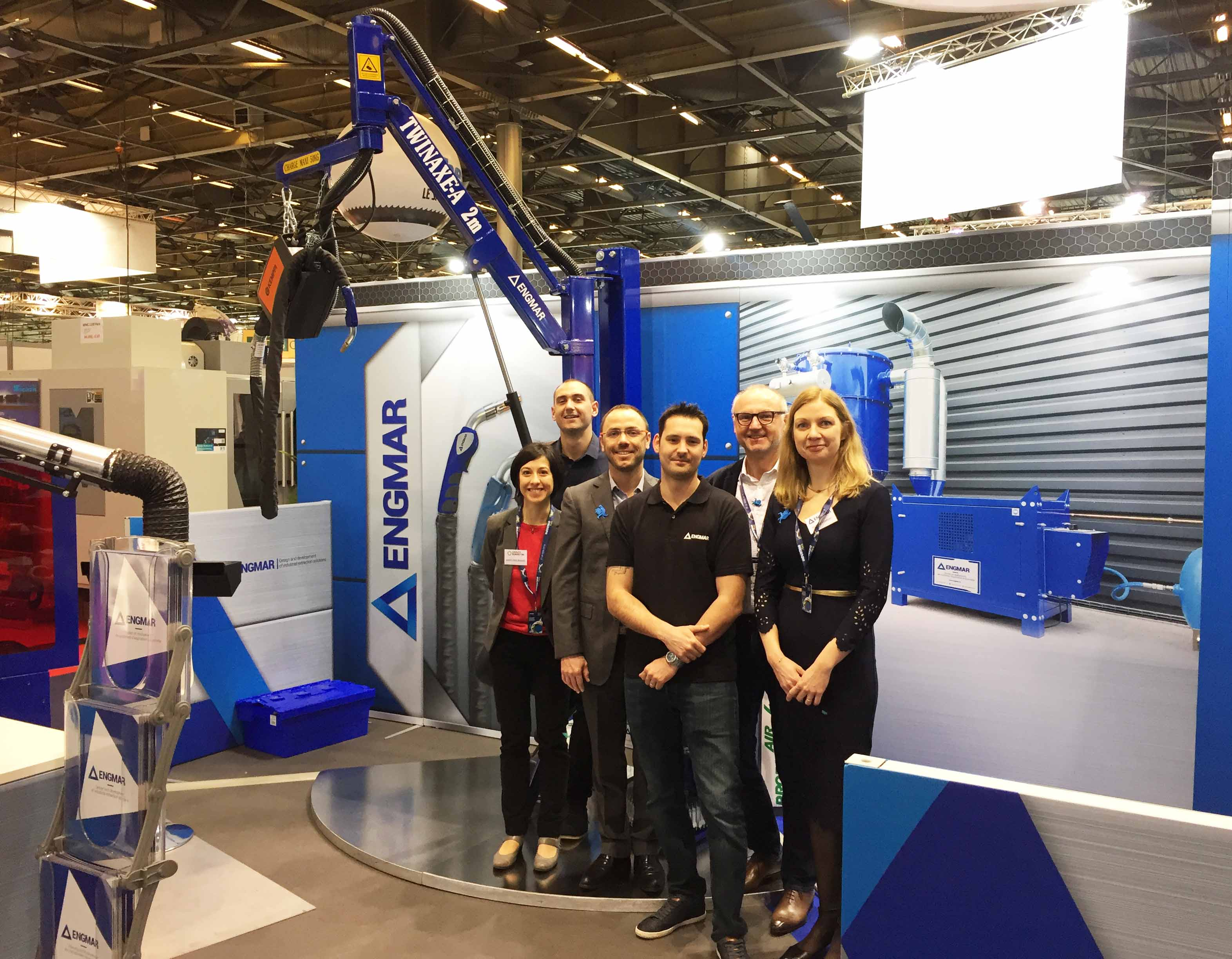 Stand Engmar Global Industrie 2018-Equipe
